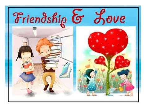 images of love n friendship friendship vs love