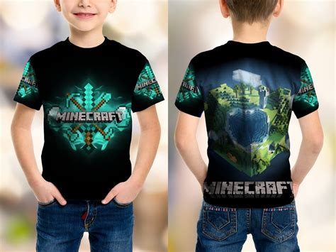 Kaos The Sublime jual beli kaos fullprint sublime anak custom minecraft