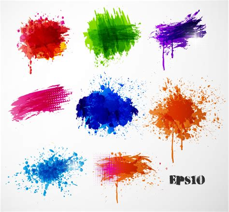 ink color color ink graffiti vector free vector graphic