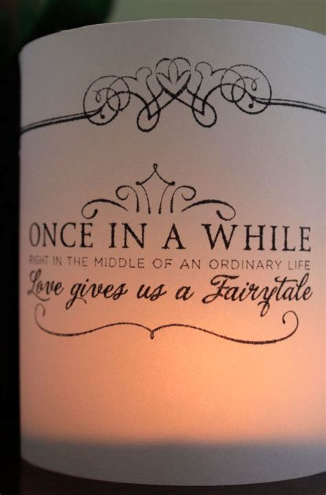 Wedding Quotes Light by Wedding Table Decor Fairytale Decor Wedding Luminaries