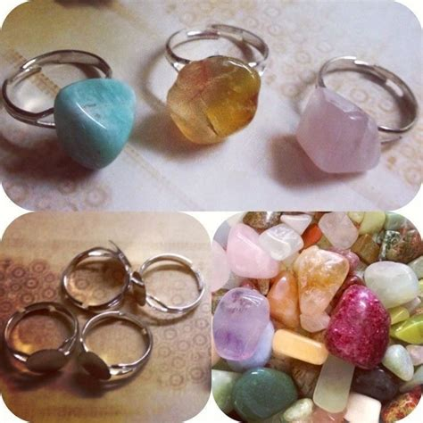 how to make jewelry from rocks fast and easy rock rings 183 how to make a gemstone