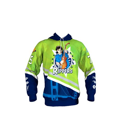 design your own hockey hoodie the rippers hoodie sublimation kings