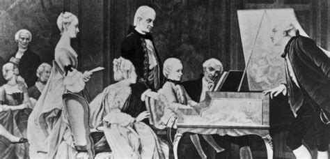 mozart family biography mozart s biography the tour ends composing begins 1766