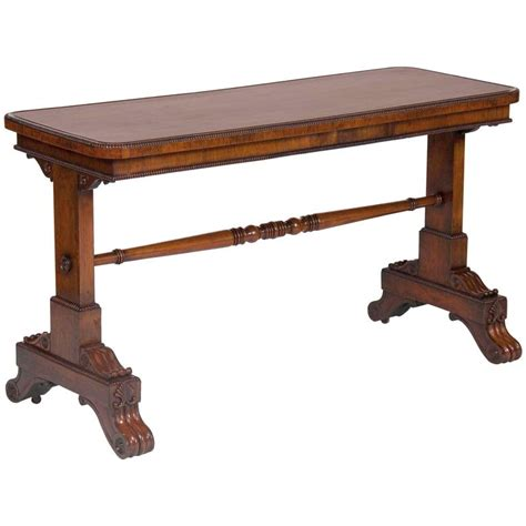 rosewood sofa table late regency rosewood sofa table for sale at 1stdibs