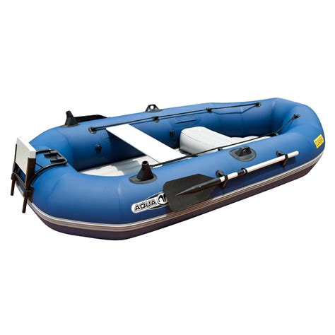 inflatable motor boat inflatable boat aqua marina classic with motor insportline