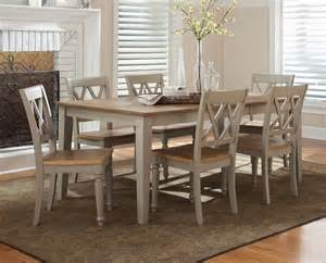 Light Wood Dining Room Sets by Liberty Furniture Al Fresco 7 Piece 74x40 Dining Room Set