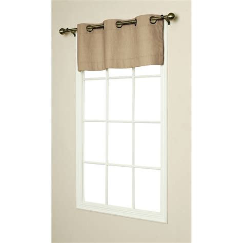 Grommet Curtains With Valance weathermate insulated grommet top valances thermal