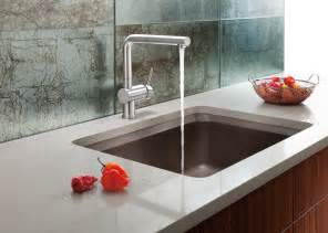 Kitchen Sinks And Faucets Designs by The New Blanco Silgranit 174 Ii Vision Designer Kitchen Sink