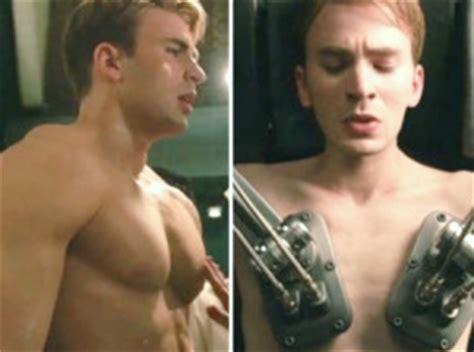 chris evans bench press captain america workout diet plan muscle supplements