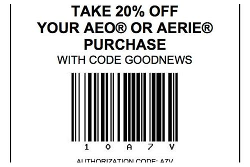 american eagle coupon codes for november 2018