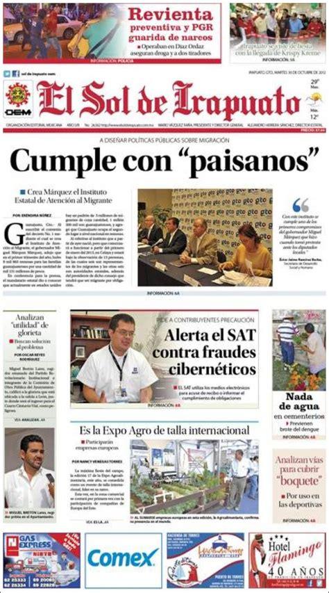 organizacin editorial mexicana wikipedia the free el sol de irapuato periodico el sol de irapuato tattoo