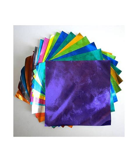 Aitoh Origami Paper - aitoh embossed color foil origami paper buy at