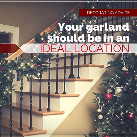 garland on banister choosing the perfect garland for your home