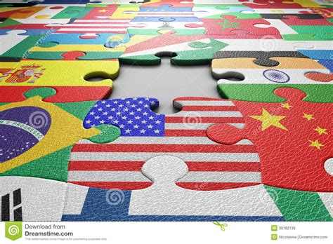 flags of the world puzzle world flags puzzle royalty free stock images image 30182139