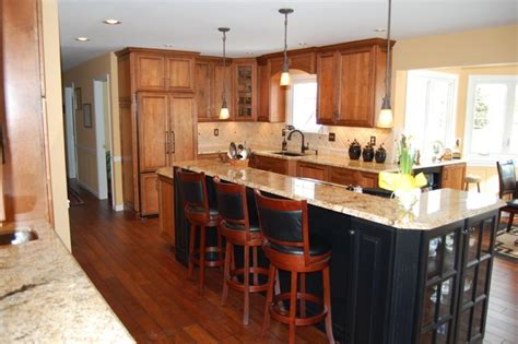 a big island traditional kitchen philadelphia by trs designs inc kitchens baths more