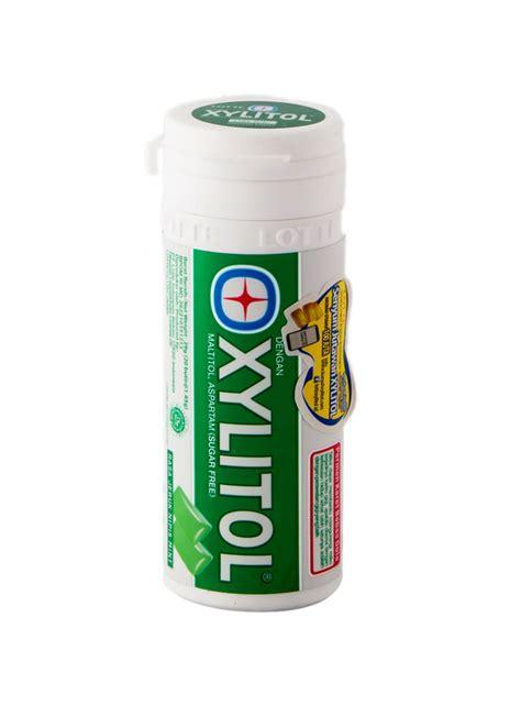 Lotte Xylitol Jeruk Nipis Mint 29g by Lotte Chewing Gum S F Xylitol Jeruk Npis Mint Btl 27 55g