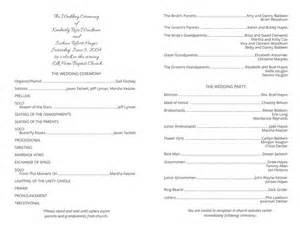 wedding program free template wedding program templates wedding programs fast