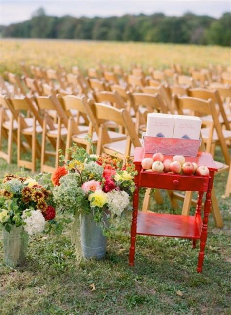 outdoor wedding decoration ideas for fall 36 awesome outdoor d 233 cor fall wedding ideas weddingomania