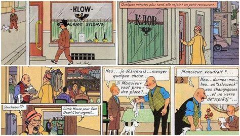 Kaos Tintin King Ottokars Sceptre le restaurant klow de tintin et le sceptre d ottokar repris dans mortimer king ottokar
