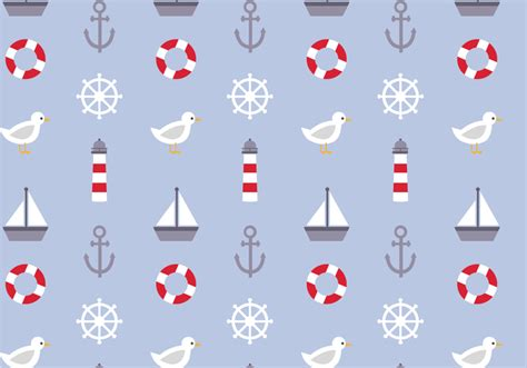 nautical pattern background free nautical pattern vector download free vector art