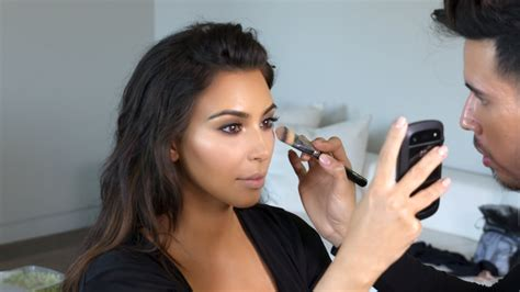 what happens when kim kardashians makeup artist does watch my daily makeup routine youtube