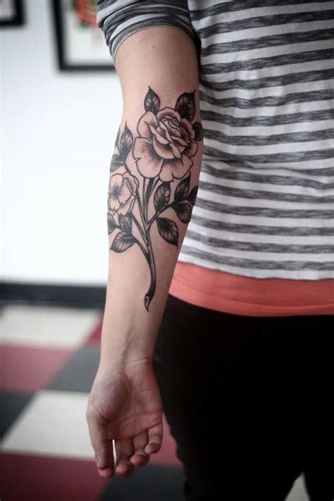 cute rose tattoos tumblr idea