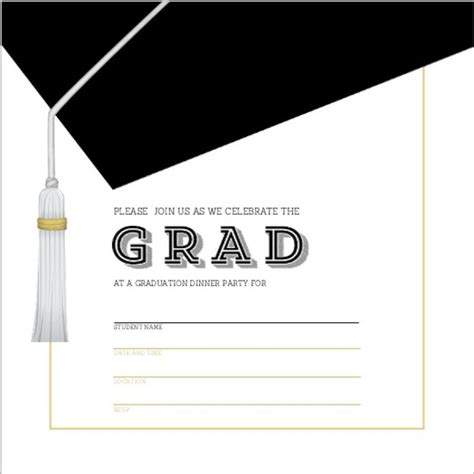 graduation card template printable graduation invitation templates graduation invitation