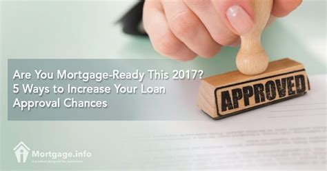 How To Improve Your Profile For Mba In India by 2017 Are You Mortgage Ready This 2017 5 Ways To Increase