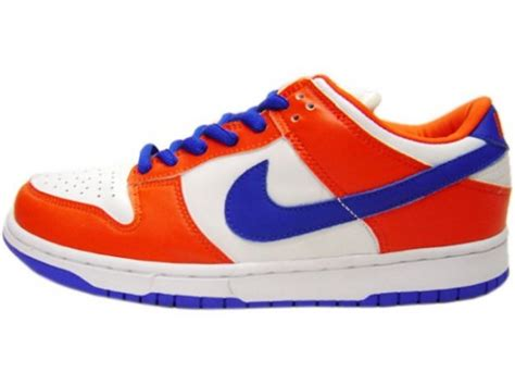 Nike Safety nike dunk low pro sb danny supa safety orange hyperblue white sneakernews