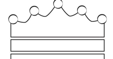 crown template printable clipart best
