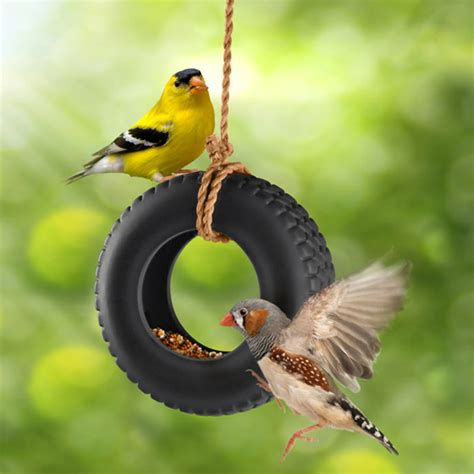 8 cool and modern bird feeders design swan