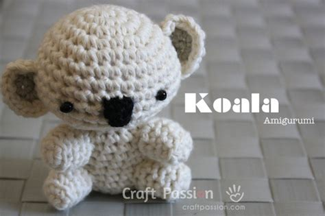 amigurumi koala pattern adorable amigurumi koala bear free crochet pattern