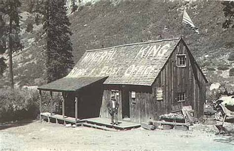 Mineral King Cabins by History Of The Living Historic Community Modern Cabin