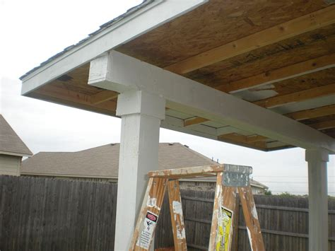 build a patio awning how to build a patio cover pt 2 must see edition youtube