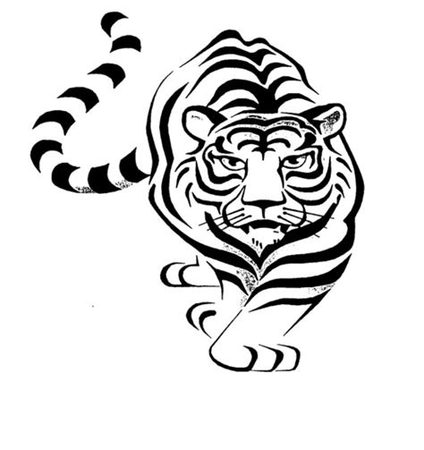 tribal tiger tattoo designs 15 awesome tribal tiger tattoos only tribal