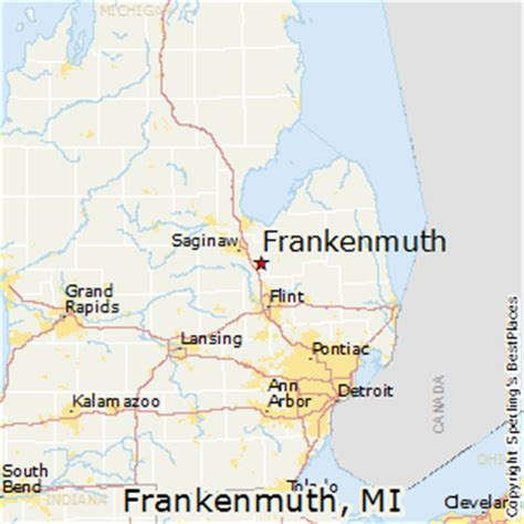 best places to live in frankenmuth michigan