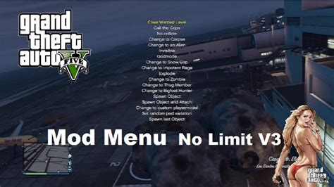 mod gta 5 car gun gta v 1 17 mod menu gta 5 special guns spawn object
