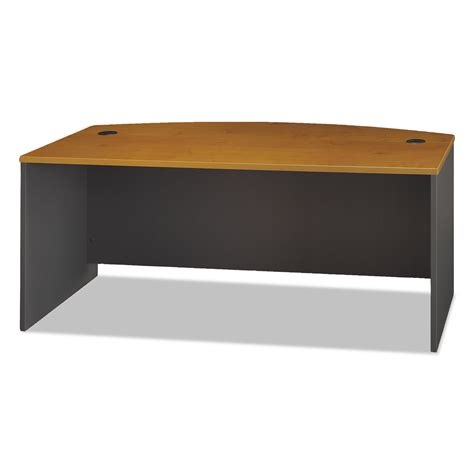 Front Office Desk Series C Collection 72w Bow Front Desk Shell By Bush 174 Bshwc72446 Ontimesupplies