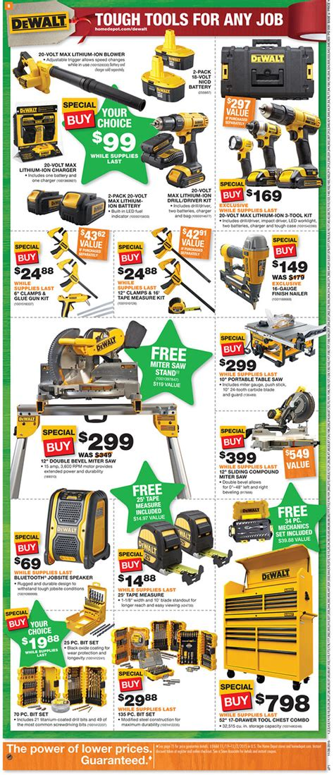 black friday tool cabinet deals home depot black friday 2015 tool deals