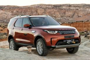 Toyota Range Rover 2017 Land Rover Discovery Drive Road