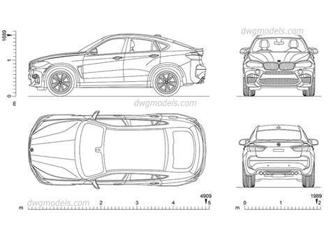 xatva manqanis how to draw a bmw x6 как нарисовать bm bmw x6 cad model car drawing