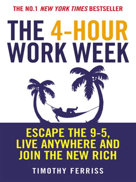the hour books the 4 hour work week by tim ferriss the book review