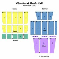 Seating chart cleveland music hall tickets cleveland music hall maps