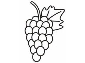 Grapes Coloring Page Sketch sketch template