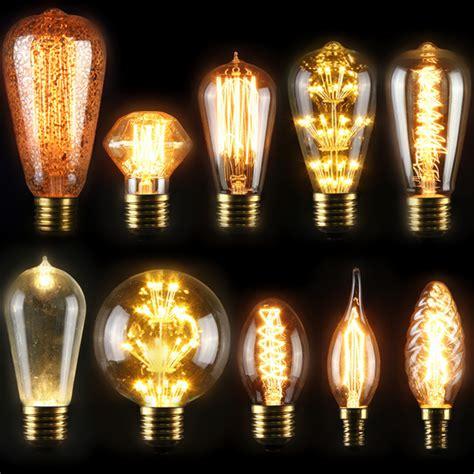 led vintage edison bulb e27 e14s 3w5w40w retro filament