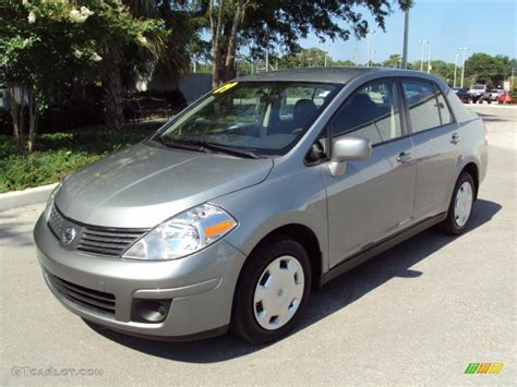 grey nissan versa 2009 magnetic gray nissan versa 1 8 s sedan 31426518