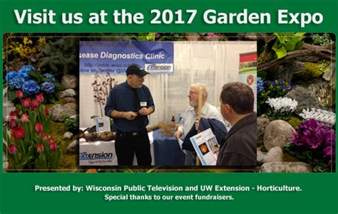 Landscape Expo 2017 Pddc Help In Identifying Plant Diseases