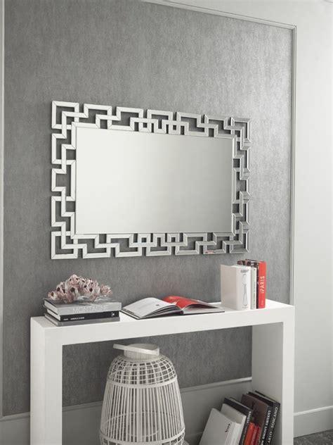 specchio soggiorno specchio moderno rotondo lavorato da muro