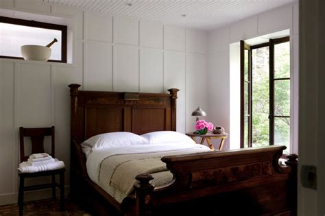 bedroom wall panels cabin in fitch bay rustic bedroom montreal