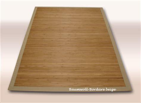 teppich aus bambus bambus teppich dekowe parkett 200x300 cm beige
